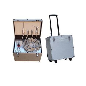 Dental Equipment Portable Dental Unit Dental Mobile unit Suction with Air Compressor