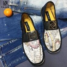 Мужская обувь F.N.JACK легкие износостойкие резиновые мужские эспадрильи холщовые Лоферы обувь мужская обувь для тенниса