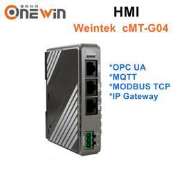 WEINVIEW/WEINTEK cMT-G04 z 3 porty sieciowe  obsługuje OPC UA/MQTT/modbus tcp/IPGateway itp