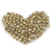 Cloches à JINGLE dorées 100x 15mm | Perles pour décoration, breloque fabrication de bijoux résultats
