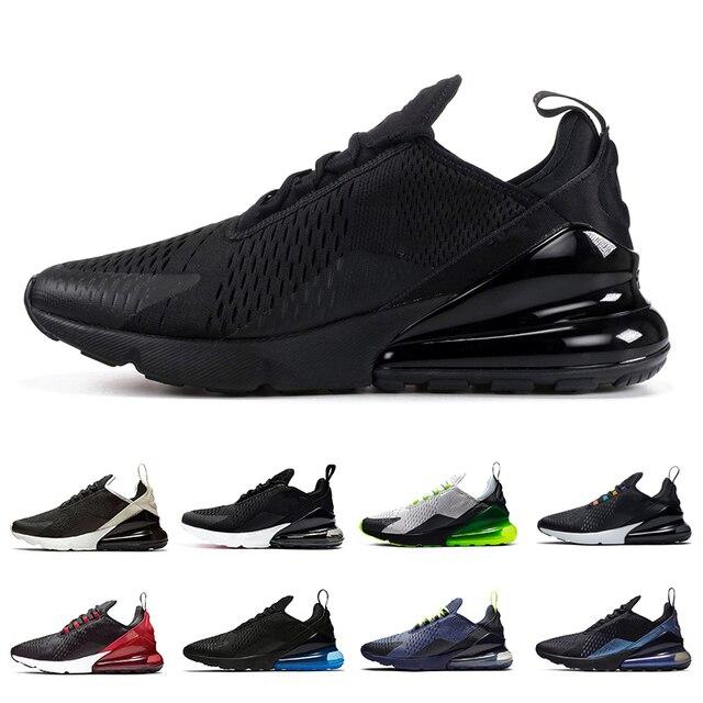 AIRTN  Triple black men women running shoes high regency purple core white blue empty platinum tint men trainers Zapatos Sneaker