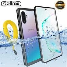 Funda impermeable para Samsung Note 10, 10Plus, cubierta completa a prueba de polvo y bajo el agua para buceo, Samsung Note 8 9 S20 S9 S10