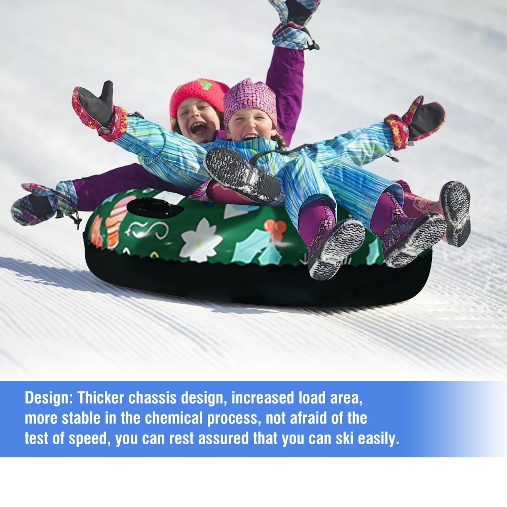 H3eaa4e1c0a164fc894be62979ae67247b - Floated Skiing Board PVC Winter Inflatable Ski Circle With Handle Durable Children Adult Outdoor Snow Tube Skiing Accessories #C