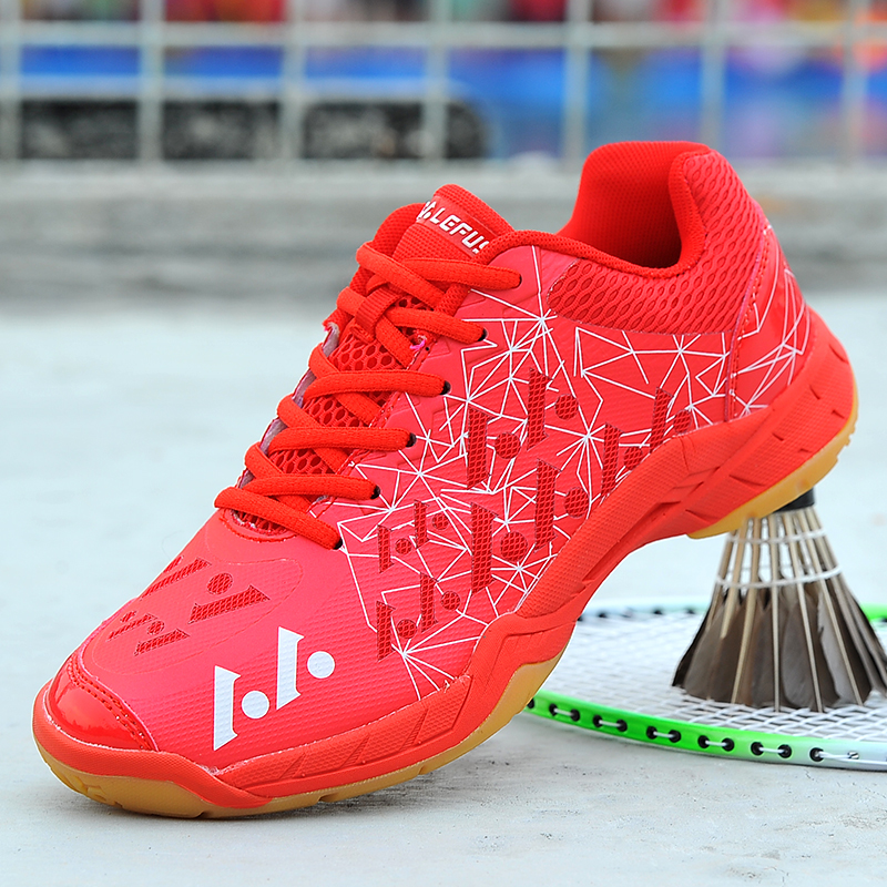 New Women Badminton Sports Shoes Non-Slip Mens Gym Sneakers Brand Big Boy Girls Badminton Training Hot Unisex Indoor Court Shoes