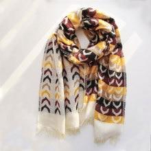 New 2019 Long Winter Cashmere Scarf Women Shawl Foulard Femme Neck Pashmina Stoles Wool Hijab Warm Plaid Blanket  Bandana poncho