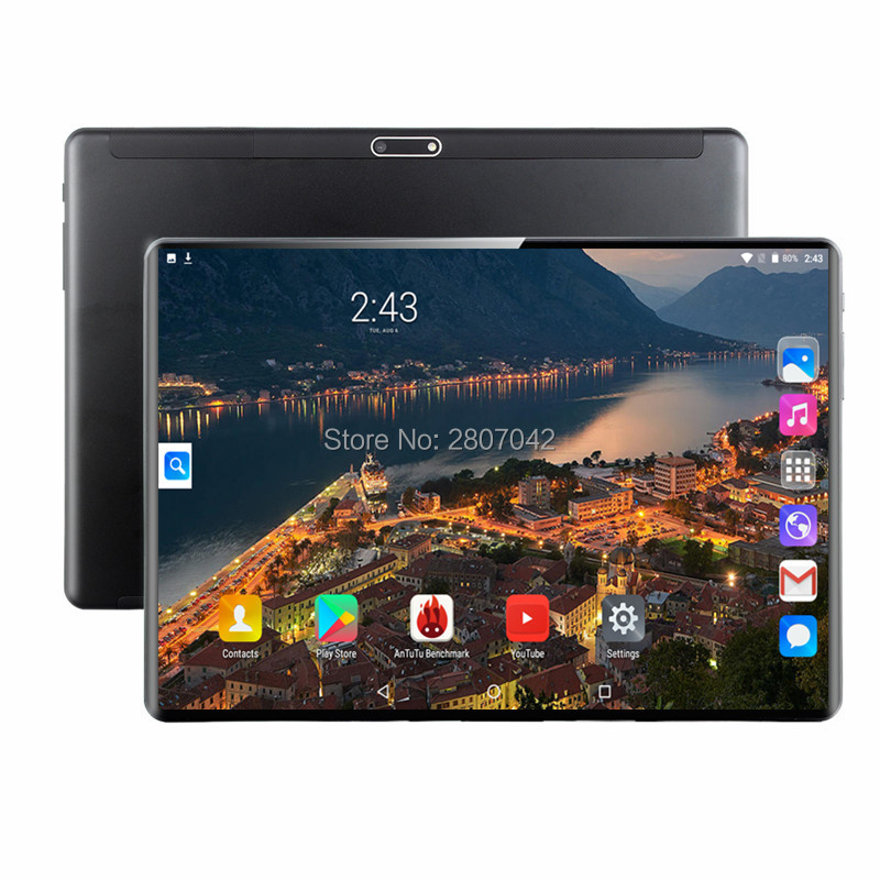 6+64GB 10 Inch Tablet PC 3G Android 9.0 Octa Core Super Tablets Ram 6GB Rom 64GB WiFi GPS 10.1 Tablet IPS S116 Dual SIM GPS