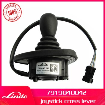 Linde forklift genuine part 7919040042 joystick cross lever used on 335 336 electric truck E16 E20 E30 and 394 396 diesel truck