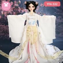 Puppe BJD Kleidung 1/4 Kleid Schöne Puppe Kleidung Zusammenfassung Link Für Minifee Fairyline Mädchen Körper Puppe Zubehör Märchenland