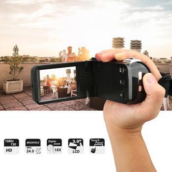 filmadora 3 inch LCD Screen 18X Digital Zoom High Definition DV Camera Camcorder camera profissional Digital Video Camera 2