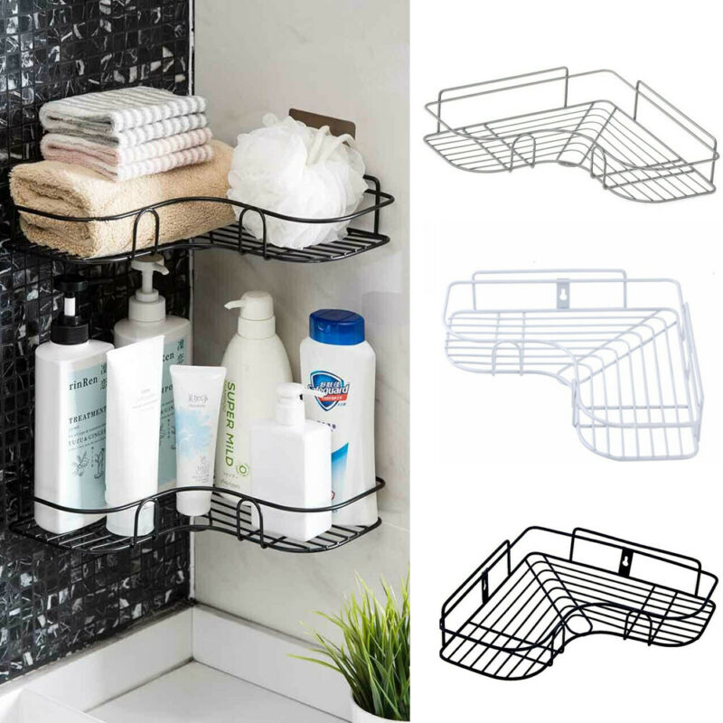Iron Storage Shelf Mesh Basket Kitchen Rack Chopping Block Rack Cutting Board Towel Holder Cabinet Door Hanging Under Cupboard