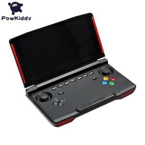 Image 5 - Powkiddy X18 Andriod وحدة تحكم بجهاز لعب محمول 5.5 بوصة 1280*720 شاشة MTK 8163 رباعية النواة 2G RAM 32G ROM فيديو يده لعبة لاعب