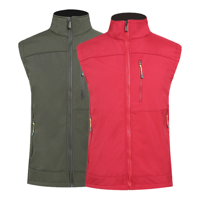 Outdoor Sports Soft Shell Customizable Fleece Raincoat Jacket Tibet Riding Waistcoat Warm Windproof Water Cold Printed Logo