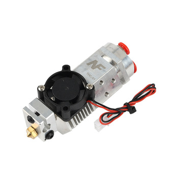 12/24V e3d V6 nozzle NF THC-01 Hotend Kit 3 in 1 out Multi-color Remote Extruder 3010 cooling fan For Titan bulldog 3d printer