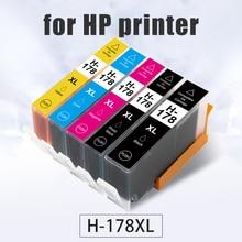 Topcolor 178XL H-178 Full Ink Cartridge Compatible HP 178 HP-178 for HP Photosmart 5515 7510 B109a 5510 B109n B110a 6510 Printer цена 2017
