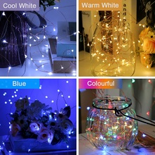 Goodland LED Garland on Battery Fairy Lights Decorative LED String Light for Christmas Light Outdoor Decoration Wedding Street
