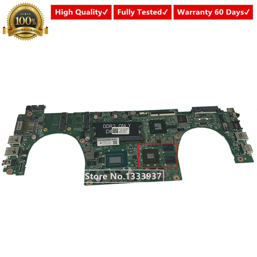 CN-0XX7YR 0XX7YR XX7YR mainboard DA0JW8MB6E0 for DELL Vostro 5460 V5460 <font><b>Laptop</b></font> Motherboard with <font><b>i5</b></font>-<font><b>3230M</b></font> 31JW8MB0120 image