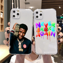 For iPhone X XR XS MAX Never Broke Again YoungBoy Pop rapper Case For iPhone 11 Pro 6 6S 7 8 Plus Soft silicone Cover Phone Case never broke again youngboy pop rapper case for iphone 11 pro xs max xr x 6 6s 7 8 plus 5s se black soft tpu silicone phone cases