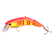 1pc 10.5cm 14g hard plastic jointed minnow fishing lures wobblers artificial lifelike swimbaits pesca tackles