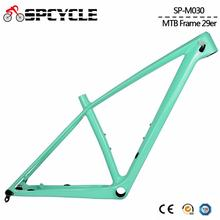 Spcycle 29er Carbon Mountain Bike Frame 148*12mm Boost T1000 Carbon MTB Bicycle Frame 31.6mm Seatpost 15/17/19