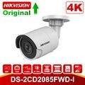 Hikvision Bullet 8MP IP камера 4K DS-2CD2085FWD-I уличная 8 мегапиксельная CMOS камера видеонаблюдения POE s 30m IR SD слот для карты