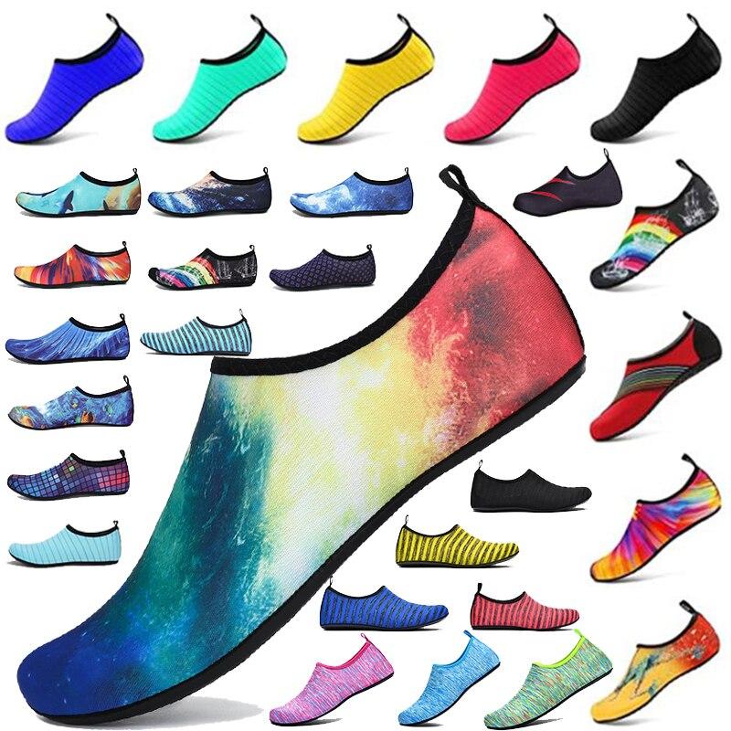 Кроссовки Cungel унисекс, быстросохнущая акваобувь для плавания, детская обувь для воды, Пляжная мужская обувь