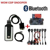 2019 new relay free keygen WOW SNOOPER with Bluetooth wurth v5.008 R2 vd tcs cdp pro plus for cars & trucks Free Ship