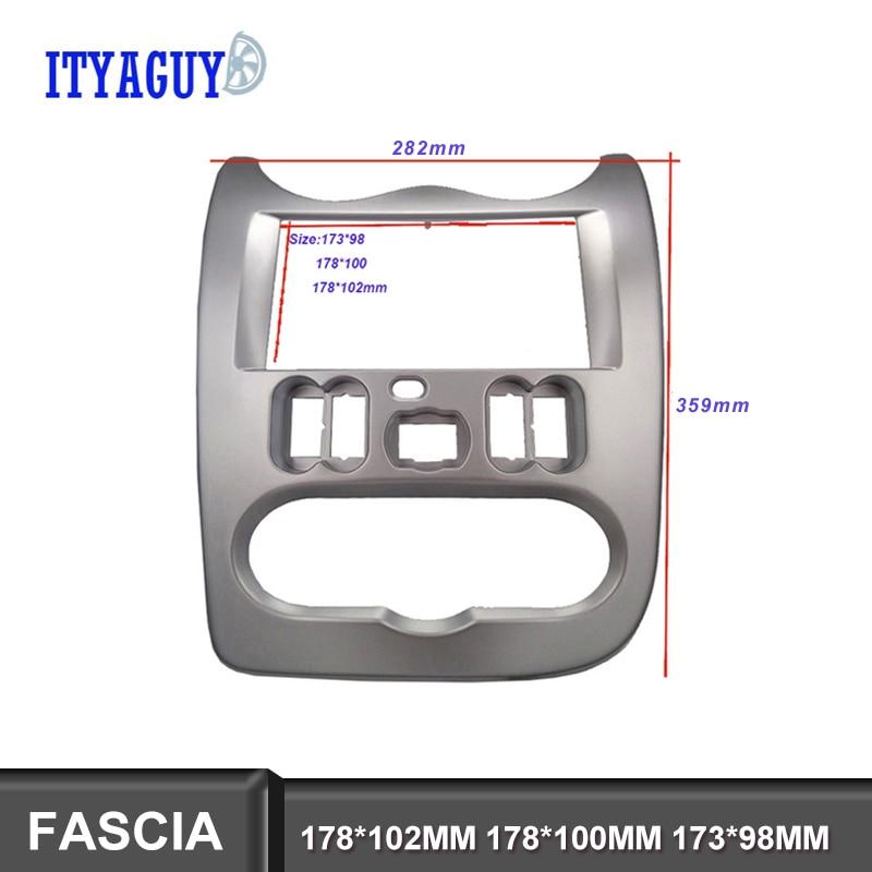 CARAV 11-037 1-DIN car head unit fascia facia installation dash kit for Corolla 2001-2006 with pocket