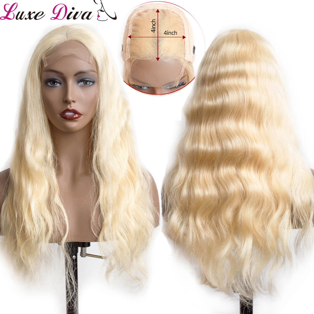 ,613_Blonde_Lace_Closure_Human_Hair_Wigsvirgin Remy_body (4)
