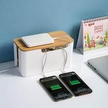 Criativo plug board soquete caixa de armazenamento suporte cabo decoração para casa organizador de mesa segurança plug board soquete recipiente