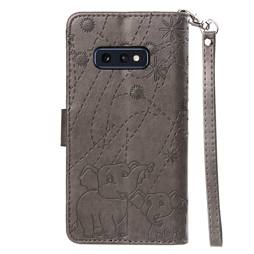 Роскошный чехол со стразами из искусственной кожи с откидной крышкой для samsung Galaxy M10 20 J6 плюс A70 A7 2019 A6 8S S8 9 S10E J4 7 8 2018 A9S Note9 чехол