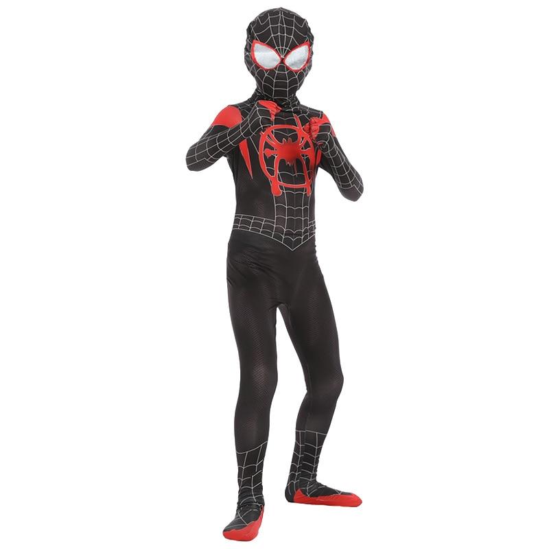 Iron Spider Cosplay Amazing Spider-boy Man Halloween Costume Peter Parker Zentai Suit Superhero Bodysuit For Kids Adult C39A66 5