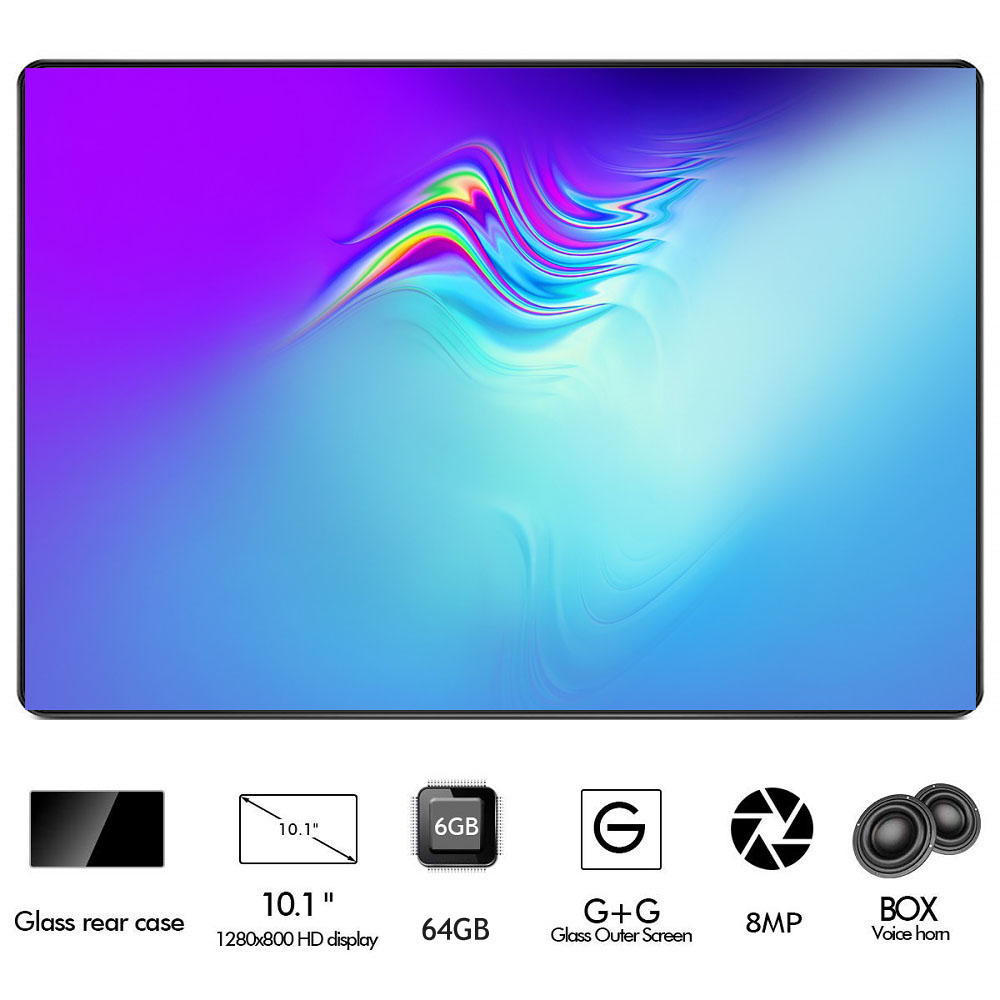2020 Google Android 8.0 OS 10 Inch Tablet 4G FDD LTE Octa Core 6GB RAM 128GB ROM 1280*800 IPS WIFI Tablets 10 10.1  Tablets
