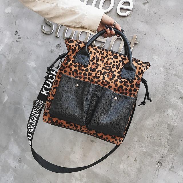 2021 women bags luxury designer handbags Cross body bags for women Leopard shoulder bag purses tote summer shopper bag 3