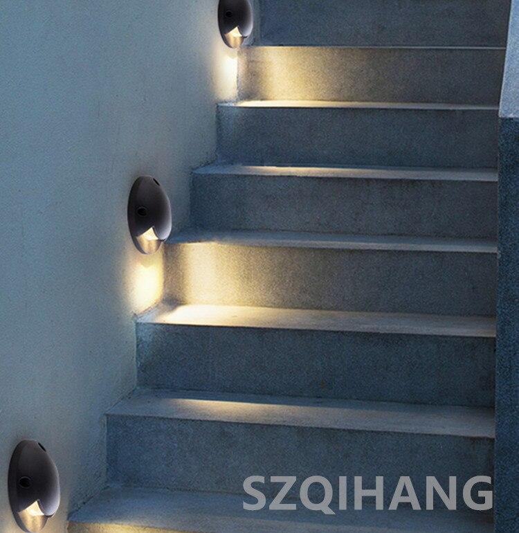 livre iluminação jardim quintal passo escadas piso