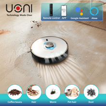 uoni V980 Plus Robot Vacuum Cleaner 2700Pa 5200mAh 3 in 1 Mopping&Sweeping&Suction Auto Charging Robot Vacuum Cleaner For Home