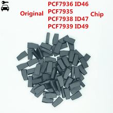 10 개/몫 원래 PCF7936 ID46 PCF7935 AA PCF7938 ID47 PCF7939FA ID49 128bit 칩 클론 트랜스 폰더 포드 혼다 마쓰다