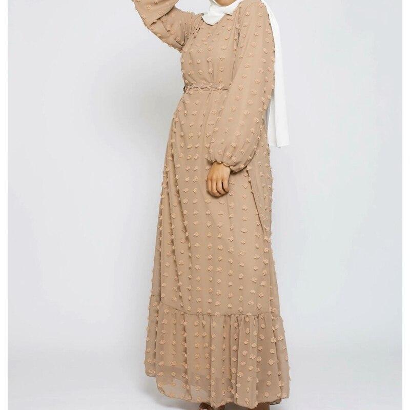 Abaya Dubai Turkey Hijab Muslim Fashion Dress India Islam Clothing Dresses for Women Dress 3