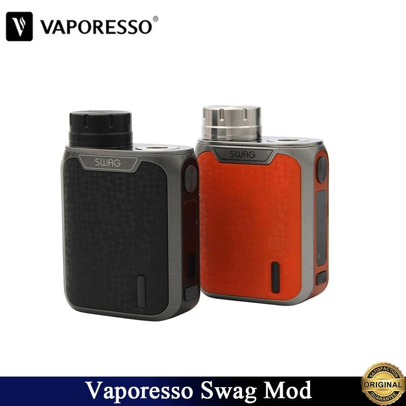 Original Vaporesso Swag Mod Vape 80 W Box Mod พอดี 18650 แบตเตอรี่ NRG SE/NRG/SE มินิอิเล็กทรอนิกส์บุหรี่ Vaporizer-ใน ตัวจุดบุหรี่ไฟฟ้า จาก อุปกรณ์อิเล็กทรอนิกส์ บน AliExpress - 11.11_สิบเอ็ด สิบเอ็ดวันคนโสด 1