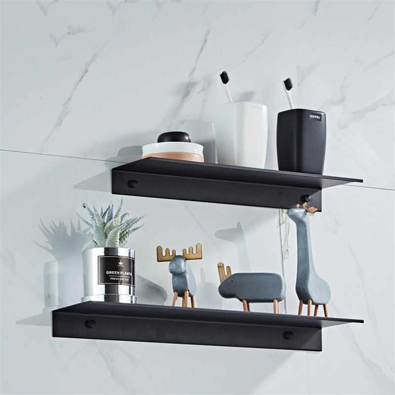 etagere salle de bain baignoire douche etagere aluminium noir salle de bain etagere d angle mural rangement pour cuisine organisateur nordique