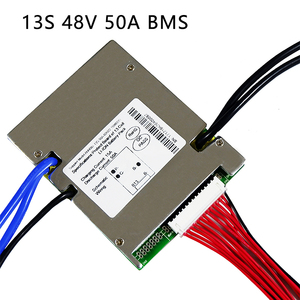 Image 4 - Li ion battery BMS 13S 48V 20A, 30A, 40A and 50A BMS For 48V 500W 2000W lithium ion battery pack With balance function