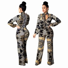 Women's Sexy Jumpsuits Elegant Strappy Long Playsuits Trouser Straight Pants Clubwear Rompers