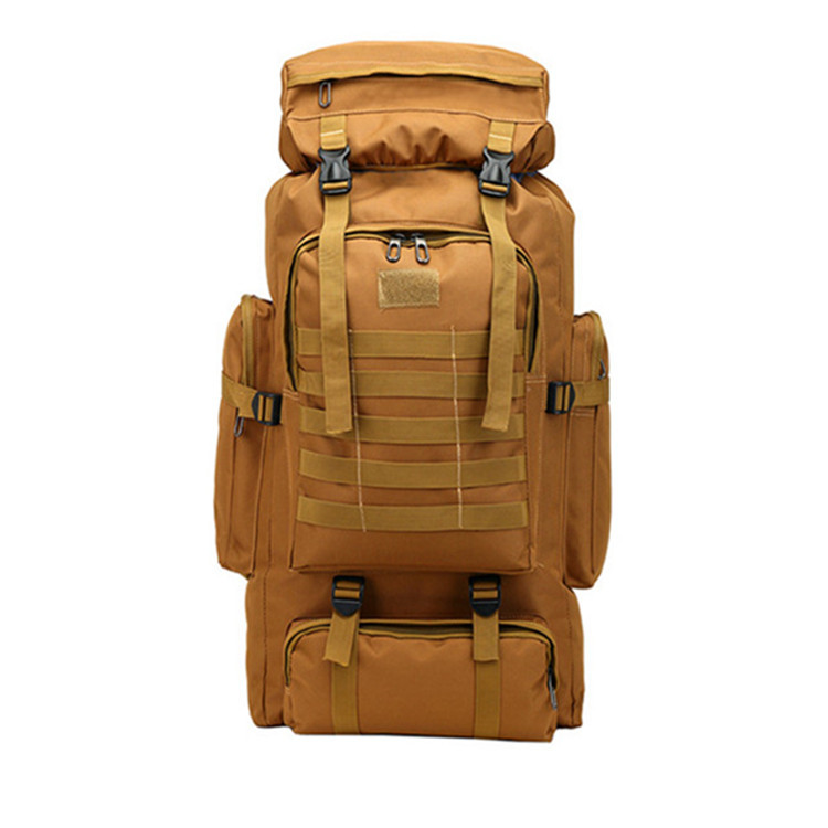 New Style Tactical Bag Oxford Cloth Backpack Men's Outdoor Backpack Large Capacity Luggage Bag Multi-functional Fishing Bag