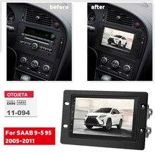 Авторадио 2 Din Android 10,0 для SAAB 9-5 95 2005-2011, DVD-плеер, головное устройство, автомобильное радио, GPS-навигация, мультимедийный рекордер, стерео