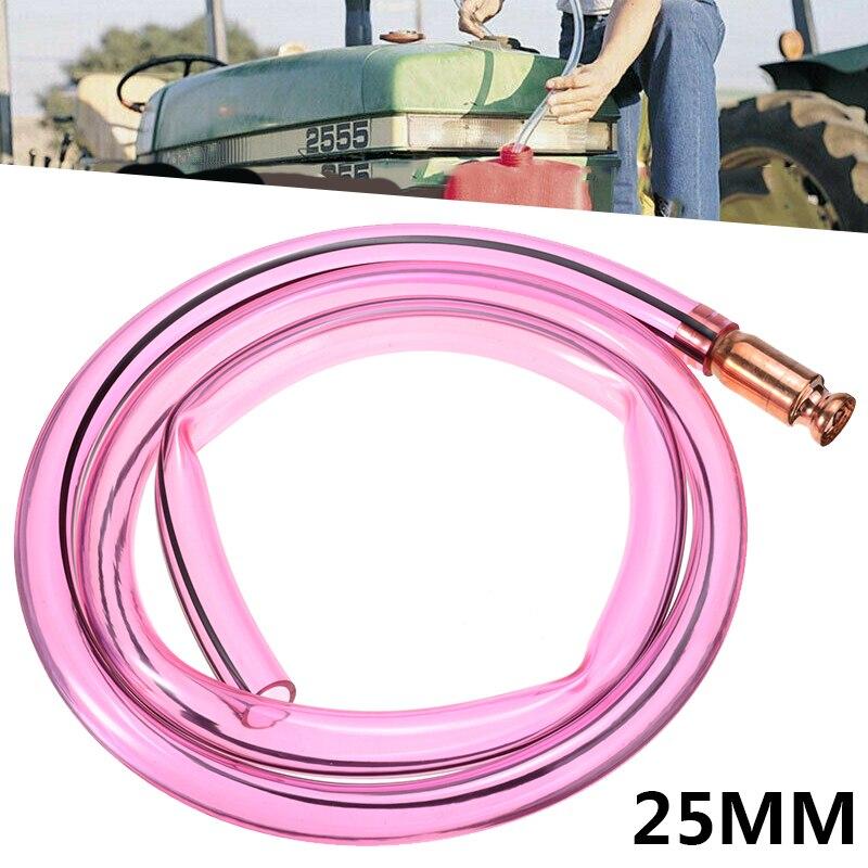 mayitr 1pc 25mm x 2m carro auto mangueira de transferencia combustivel cobre jiggler jiggler sifao bomba
