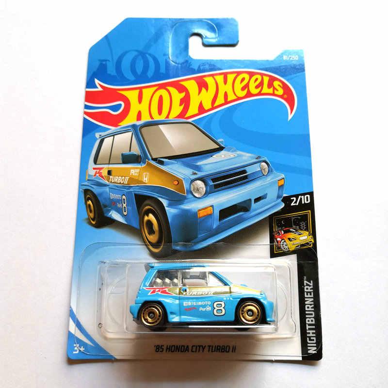 Sıcak Tekerlekler 1: 64 araba HONDA CIVIC TYPE R EF HONDA CR-X HONDA CITY TURBO Collector Edition Metal Döküm Model Arabalar