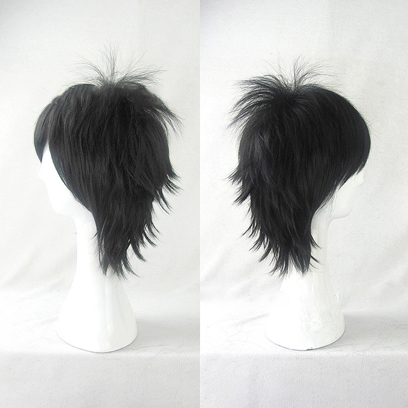 HAIRJOY  Synthetic Hair Wigs Short Curly Layered Cosplay Wig  4 Colors Available 4