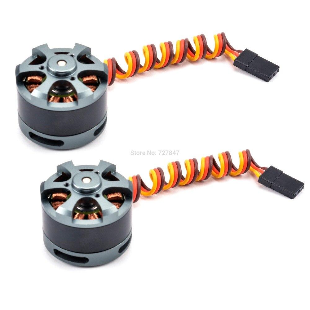 Бесщеточный карданный двигатель 2208 80KV/2204 260KV/2804 140KV/2805 140KV для Gopro CNC цифровая камера крепление FPV - Цвет: 2208 80KV 2pcs