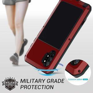 Image 4 - Funda de Metal a prueba de golpes para Samsung Galaxy S7 Edge S8 S9 S10 Plus S10e Note 10 9 8, funda protectora completa + película