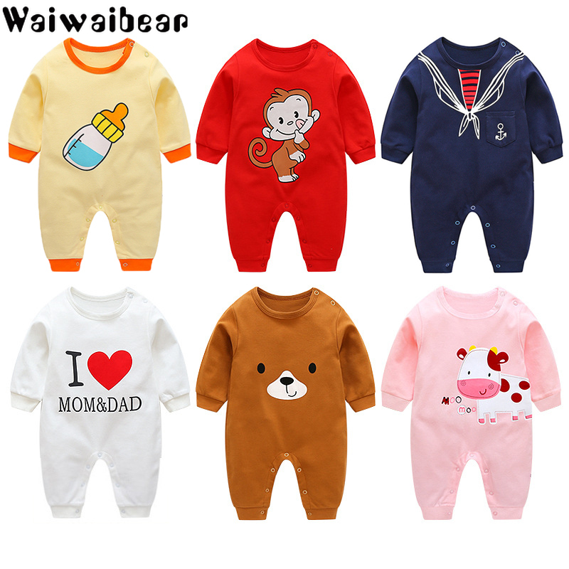 <font><b>Baby</b></font> Clothes Infant <font><b>Rompers</b></font> Boys&Girls Long-Sleeved <font><b>Rompers</b></font> Cartoon Infant Jumpsuit <font><b>Baby</b></font> Toddler Clothes Christmas Clothes-BB8 image