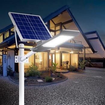 1pc Solar Wall  Street Lamp Solar 20W 30W 40W 50W 100W Led Street Light Solar Lamp Lamparas Outdoor Lighting with Remote control